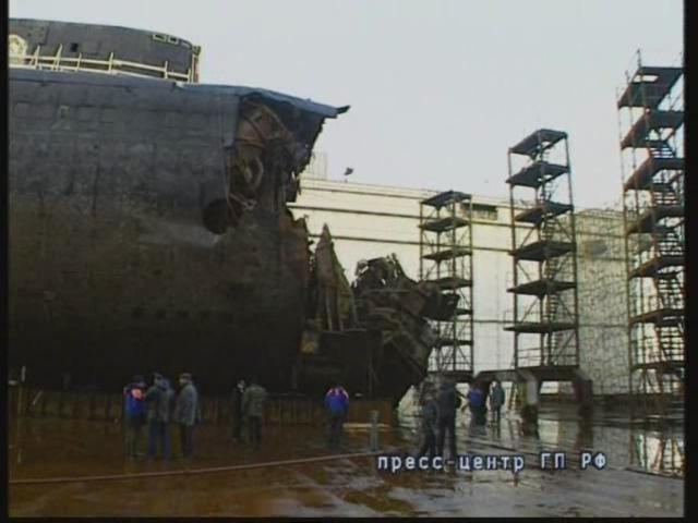 курск после гибели лодки курск