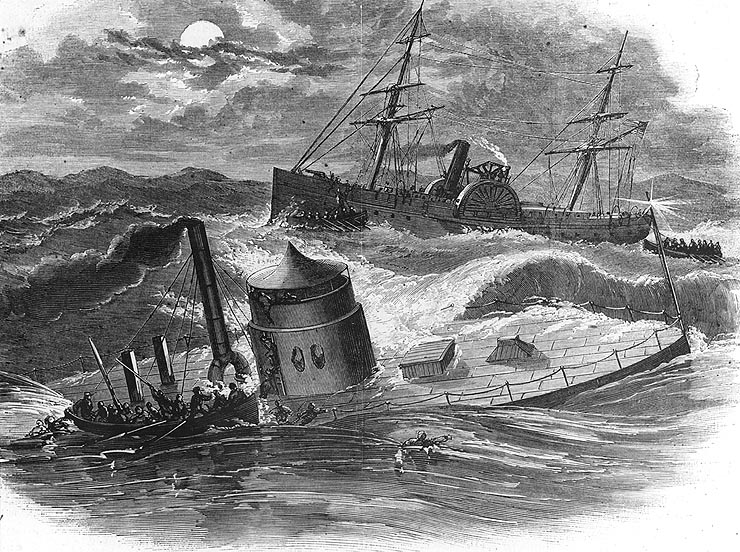 a study on submarine usage in the american civil war